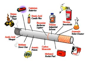 Avoid nicotine, and everything else
