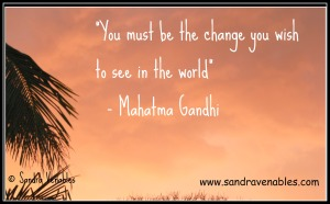 Change Mahatma Gandhi