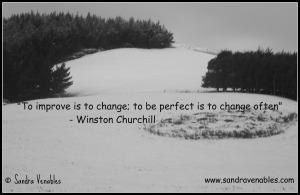 Change Winston Churchill Quote