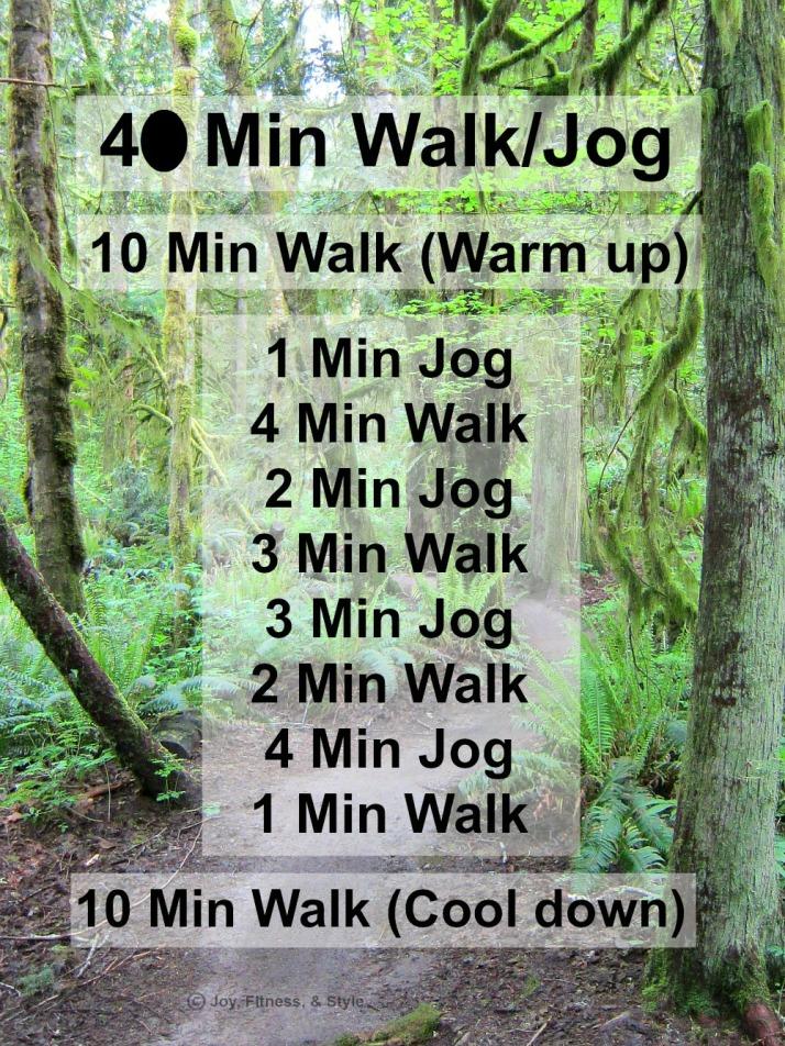 40 Min Walk Jog