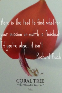 If you're alive, you are on your mission