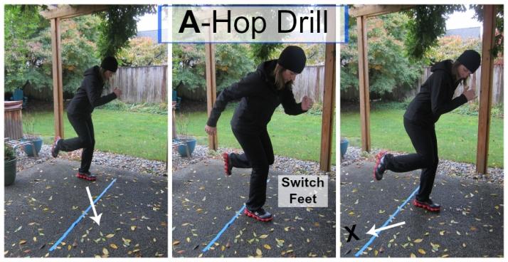 A-Hop Drill